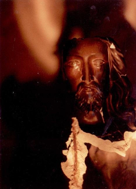 Chrystus w płomieniach - zdj. M. Brywczyńska