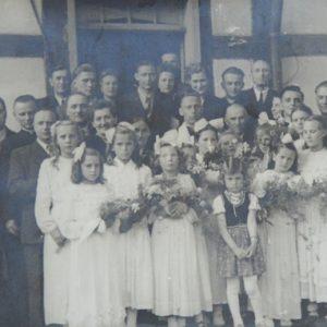 Prymicje ks. Tadeusza Jankiewicza - 1952 r.