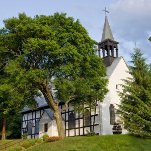 Kościół dzisiaj - widok od ul. Słupskiej